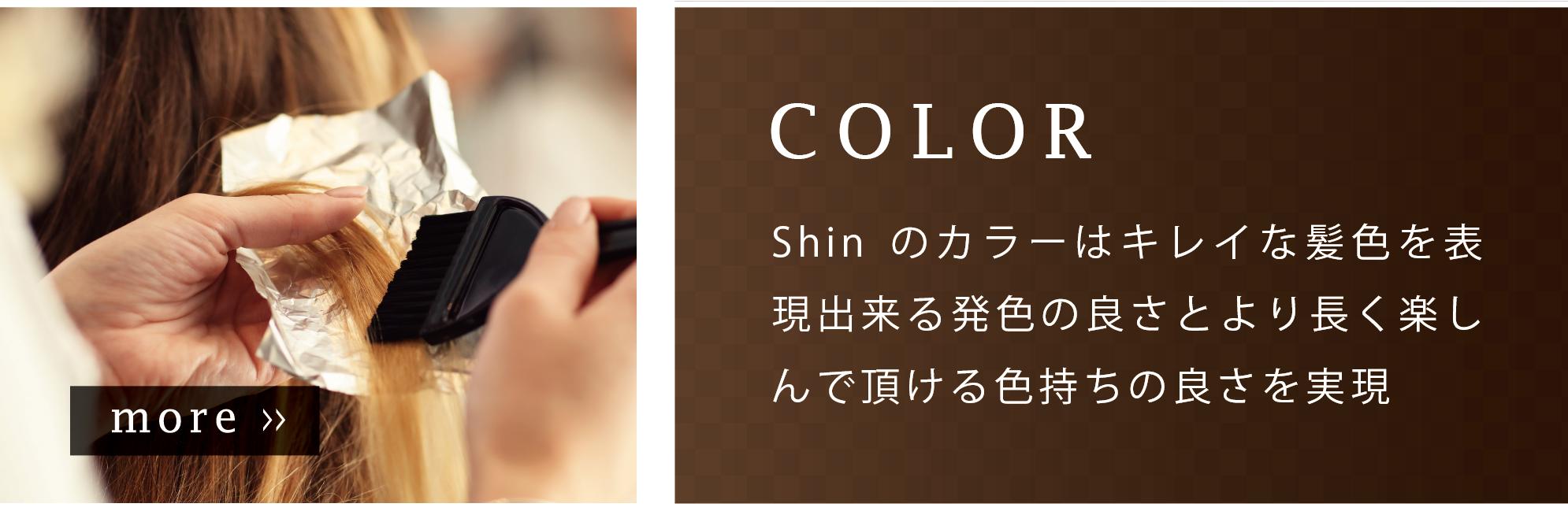ヘアサロンShinのカラー